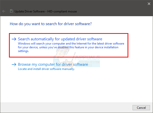 How to Fix Cursor Disappearing on Windows 10 - Appuals com