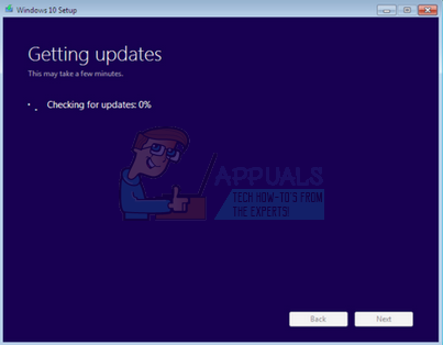 Fix: Windows 10 setup stuck at checking for updates - Appuals com