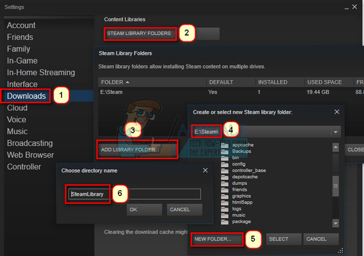 Fix: Steam Not Enough Disk Space - Appuals com