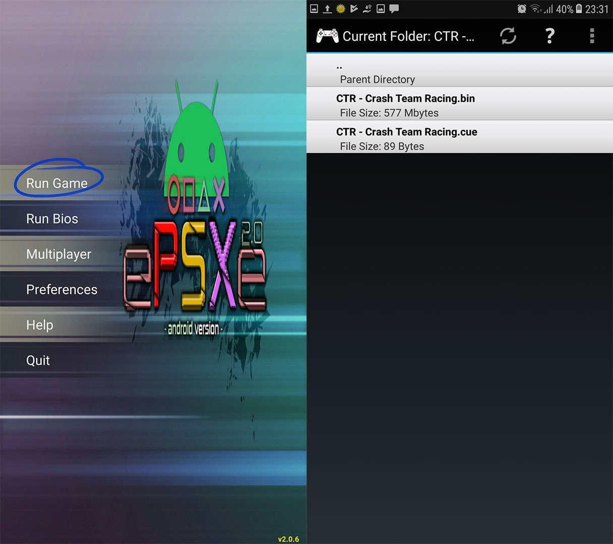 How to Play Any PS1 Game on Your Android - Appuals com
