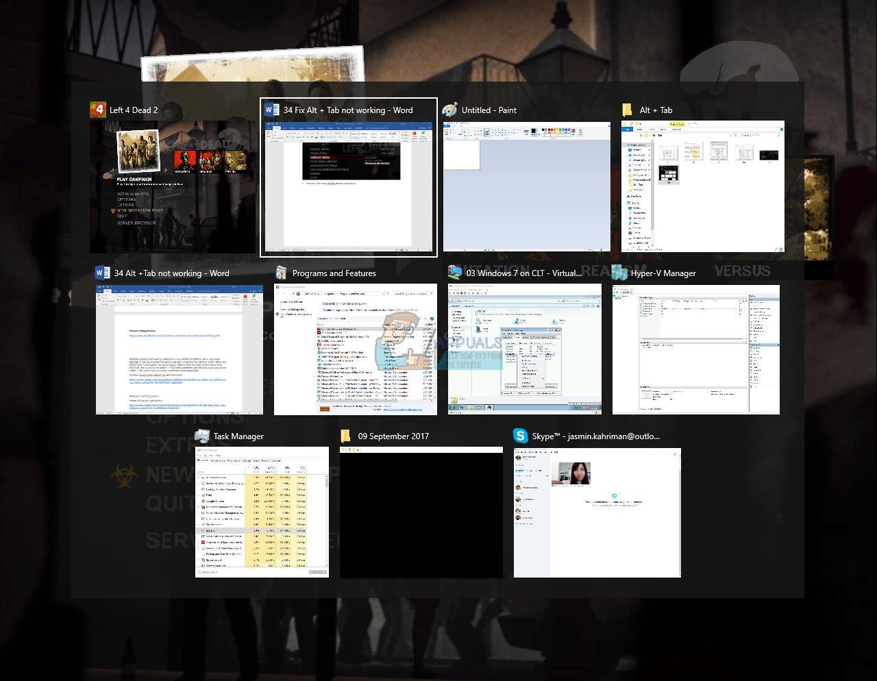Fix: Alt Tab Not Working on Windows 7,8 or 10 - Appuals com