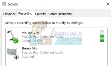 Fix: Microphone Not Working on Windows 10 - Appuals com