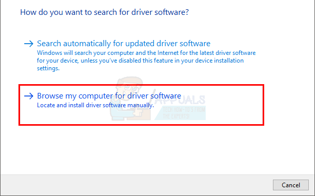 bc469f4d5e8 In the next window click Let me pick from a list of device drivers on my  computer.
