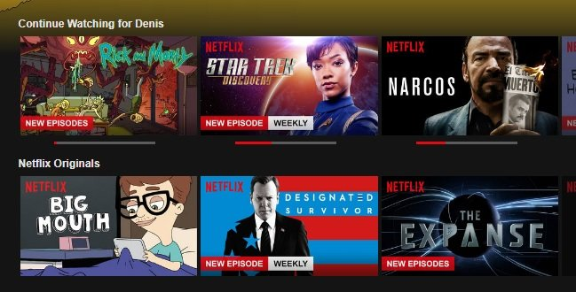 How to Clear Items from Continue Watching on Netflix - Appuals.com
