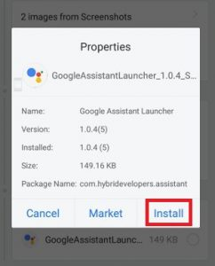 google now launcher apk lollipop