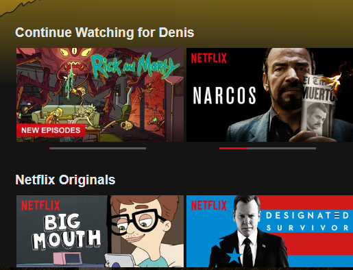 How to Clear Items from Continue Watching on Netflix - Appuals com