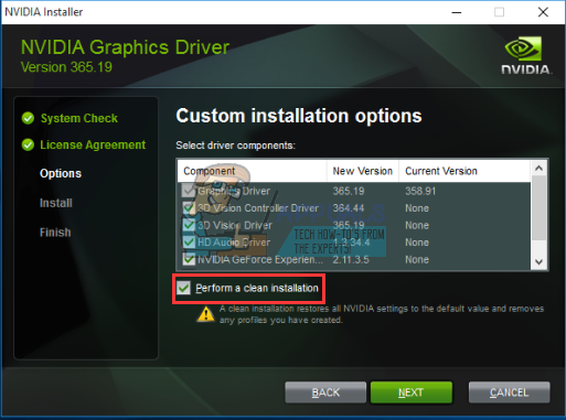 how to fix nvidia control panel settings missing laptop