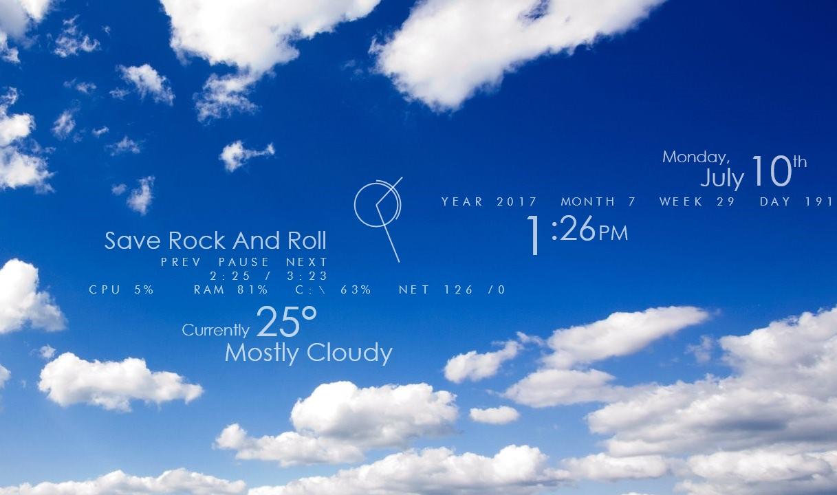 Best Rainmeter Skins for Windows 10 - Appuals com