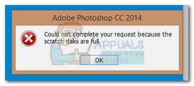 How to Fix Photoshop Error 'scratch disks are full