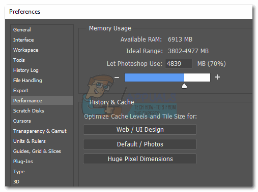 How to Fix Photoshop Error 'scratch disks are full' - Appuals com
