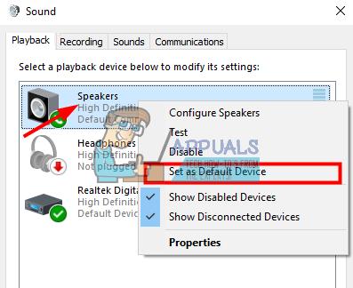 Fix: Realtek Digital Output has No Sound - Appuals com