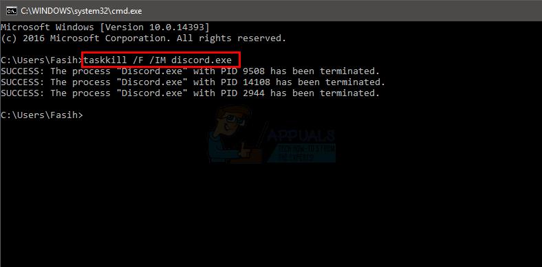 Fix: Discord Won\u0027t Open - Appuals.com