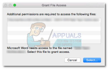Fix: Office 2016 Grant Access Error on MacOS - Appuals com