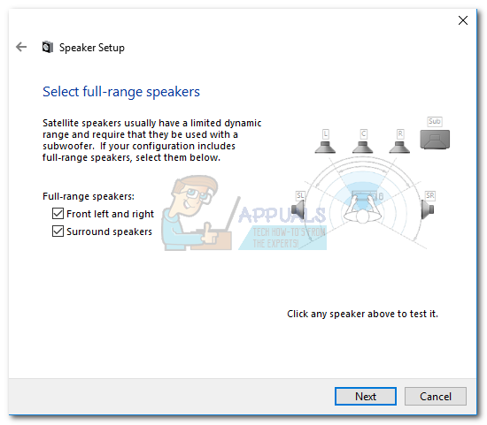 How to Configure and Test 5 1 Surround Sound on Windows 10 - Appuals com
