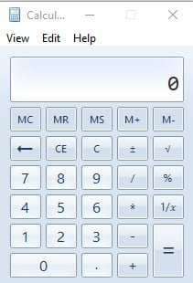Windows Old Calculator as a third-party applicaiton