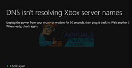 Fix: DNS isn't resolving Xbox server names - Appuals com