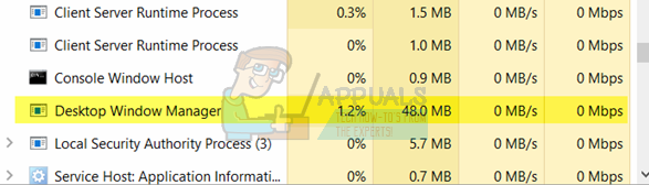 Fix: Desktop Window Manager High CPU Usage 'dwm exe' - Appuals com