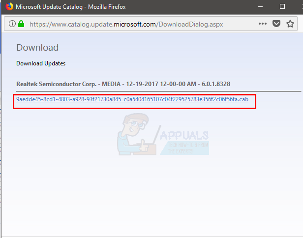 Fix: Realtek Audio Manager won't Open or Cannot find Realtek