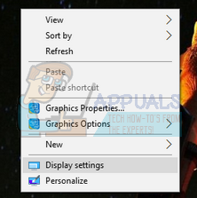 Fix: Unable to Save Display Settings - Appuals com