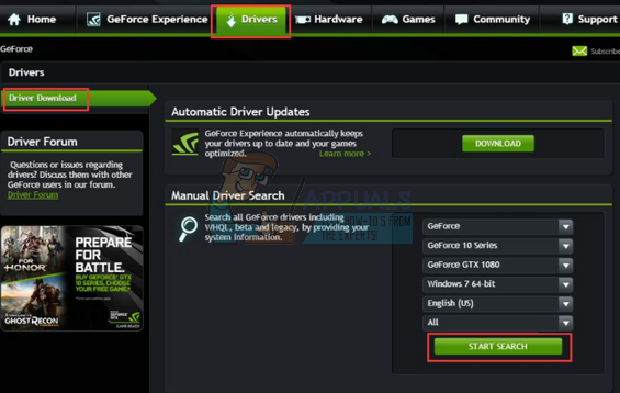 Fix: NVIDIA Code 43 (Windows has stopped this device because