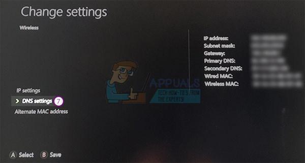 xbox one mac address change