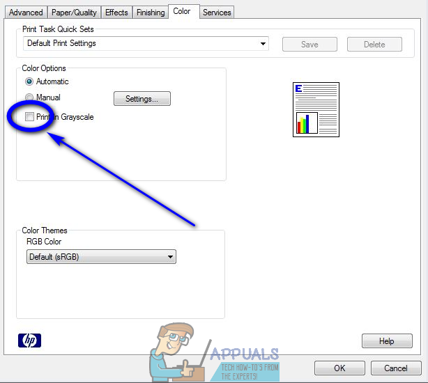 Of The Printer Properties Menu Labeled Color Or Advanced But Again Everything Depends On What You Have So Youre Going To Do A Bit