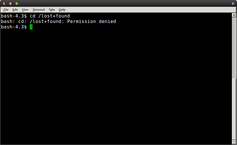 command prompt permission error