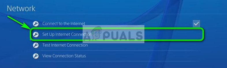 cant connect to wifi ps4