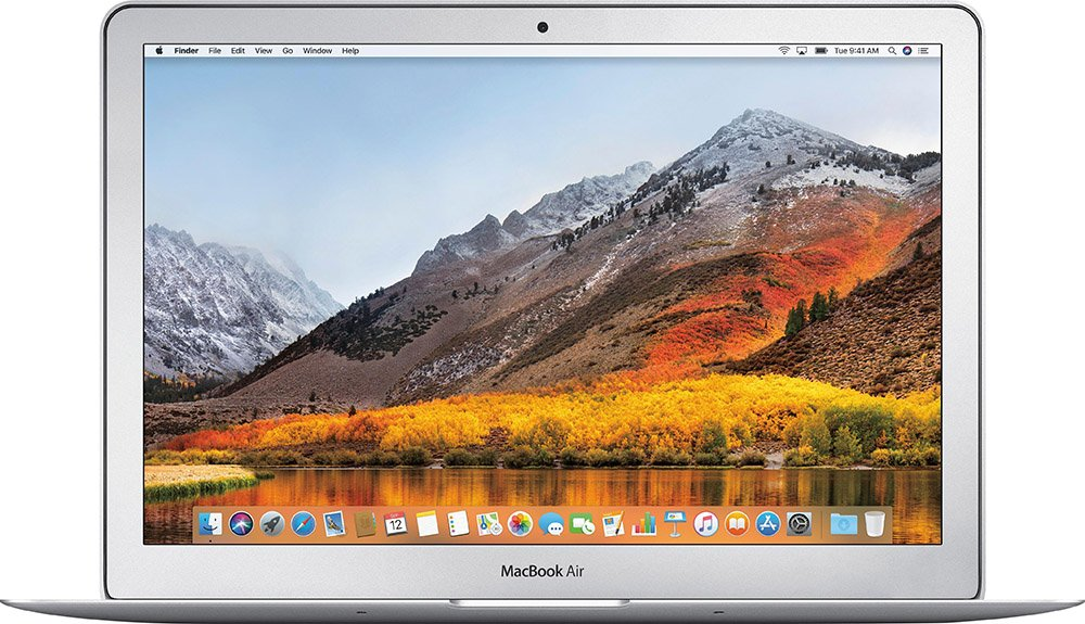 MacBook Air 2018 quad core processors