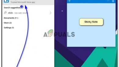 Create Sticky Notes Shortcut in Windows 10