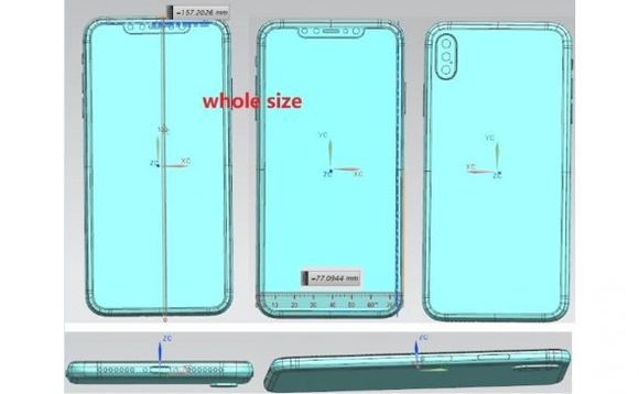 Photo of Video Leak allegedly reveals new iPhone X Plus and iPhone 9 6.1 inch designs