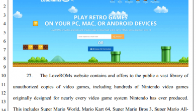 Photo of Nintendo sues two major ROM sites