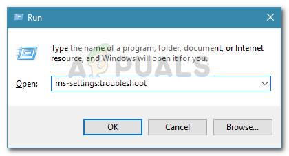 Run Dialog: ms-settings:troubleshoot