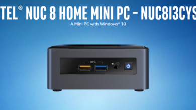 Photo of Intel NUC 8 Home Mini Is Powered By The Core i3-8121U And AMD Graphics