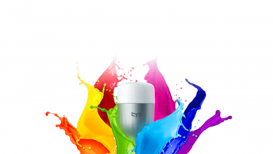 Xiaomi Yeelight RGB Bulb graphic.