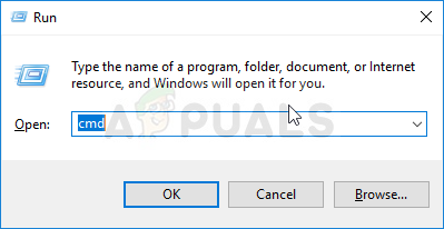 Command Prompt via Run box