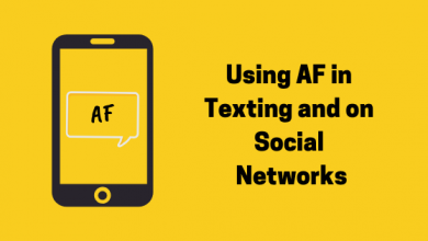 Photo of What Does AF mean and Where should It Be Used?
