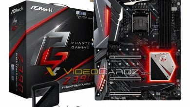 Photo of ASRock Phantom Gaming 9 Z390 Revealed High-End Board For Intel 9th Gen Processors Comes with WiFi And 3 Reinforced PCI-E Slots