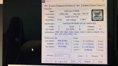 Photo of i9-9900K Scores Over 2000 points In Cinebench R15 According To Multiple Leaks While Being Overclocked To 5 Ghz On All 8 Cores