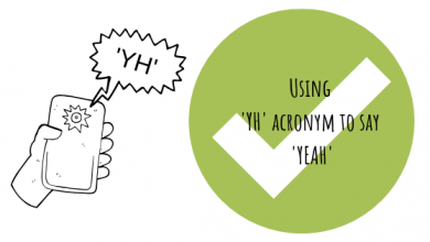 Photo of What Does Acronyms like 'YH' mean?