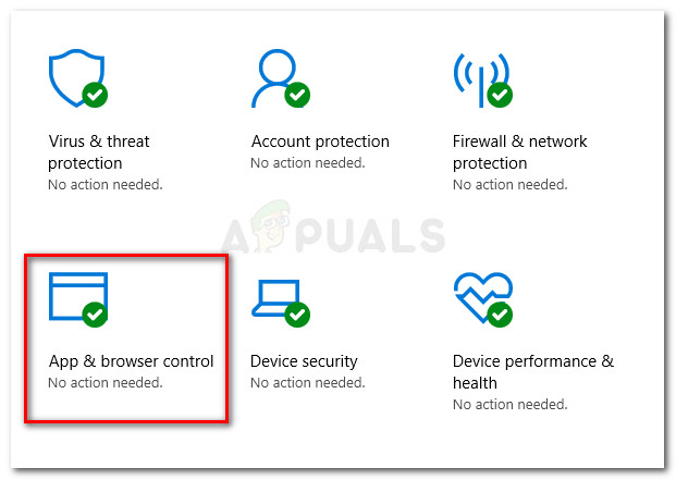 Select App & browser control