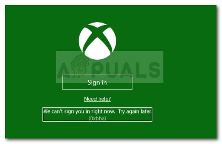 We are unable to sign you in. Try again later.