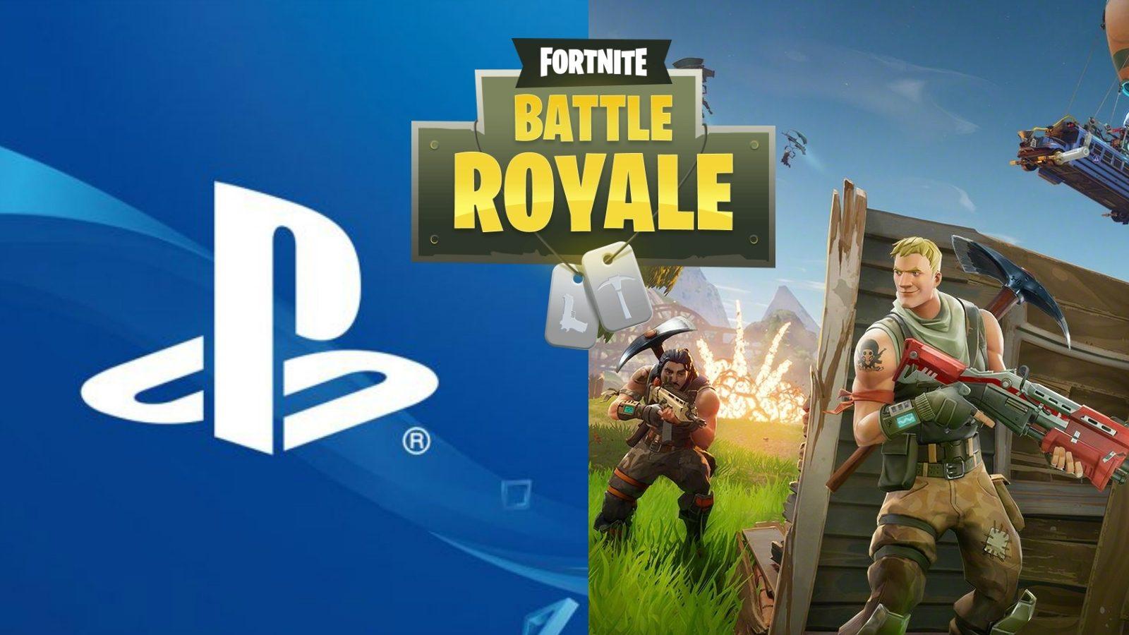Crossplay Fortnite Sony