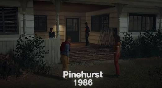 Friday The 13th Pinehurst Map