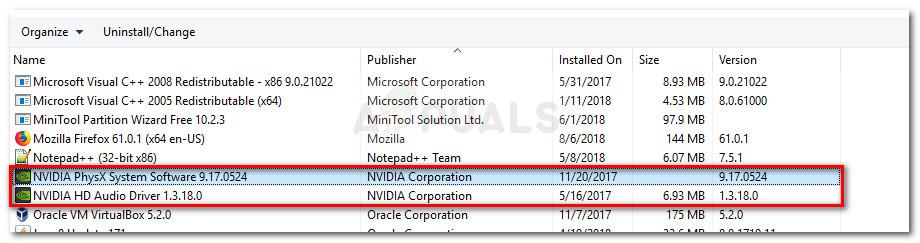Uninstall all GPU related software