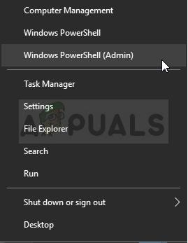 Running Windows PowerShell as admin
