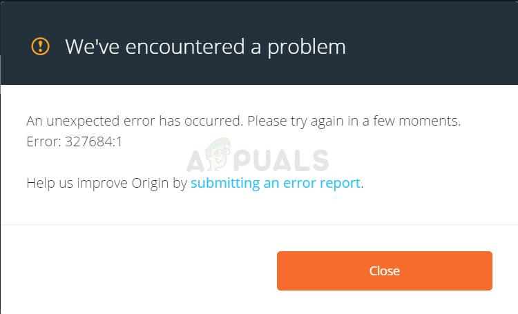 Error 327684:1