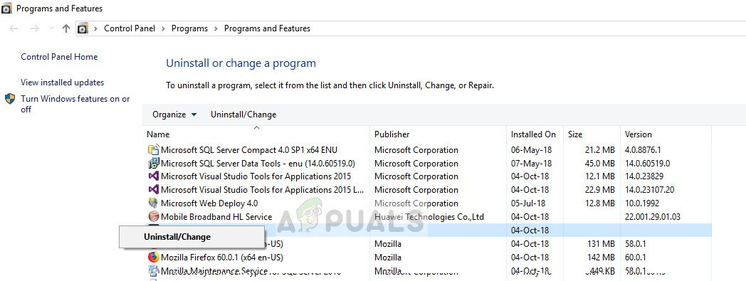Removing adware in application manager in Windows