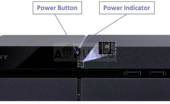 PS4 Power Button