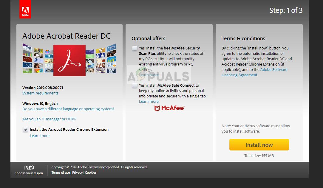 Aktualisierung der offiziellen Website von Acrobat: Adobe